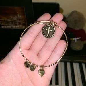 The Holy Cross Alex and Ani bracelet